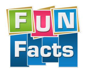 multi colored sign fun facts